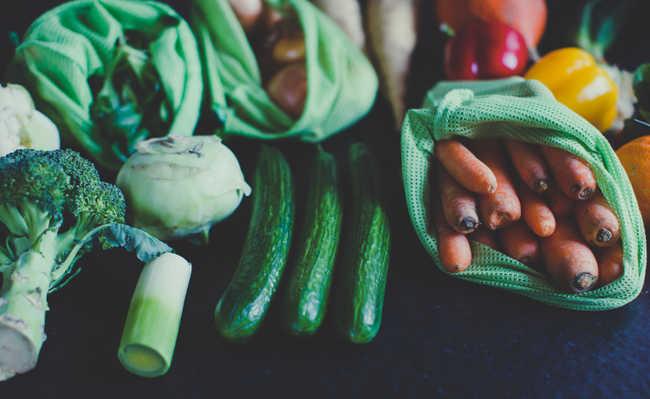 como guardar verduras e legumes na geladeira