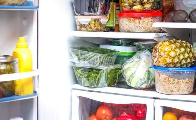 Contaminação de alimentos na geladeira