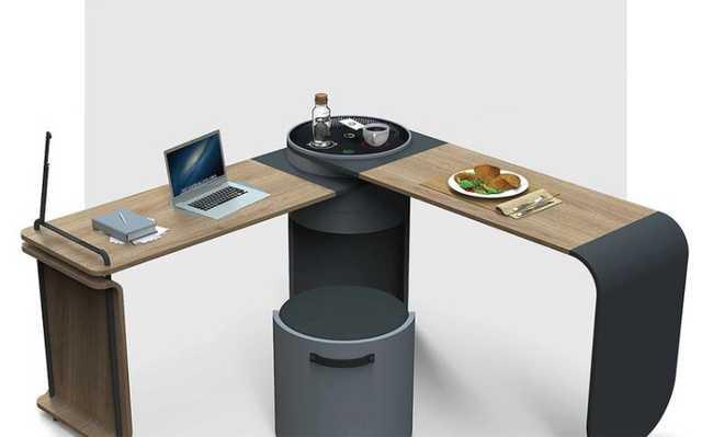 Clock desk
