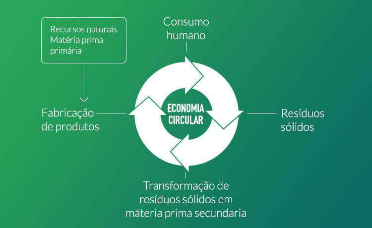 Exemplificação do processo de Economia Circular