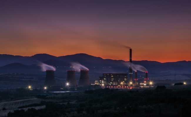poluição termal