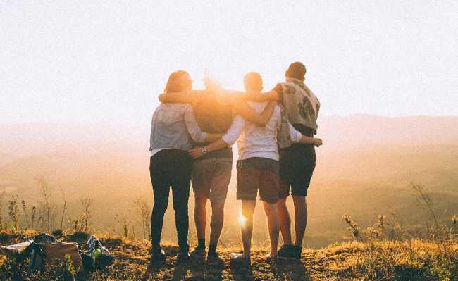 amigos social saúde mental