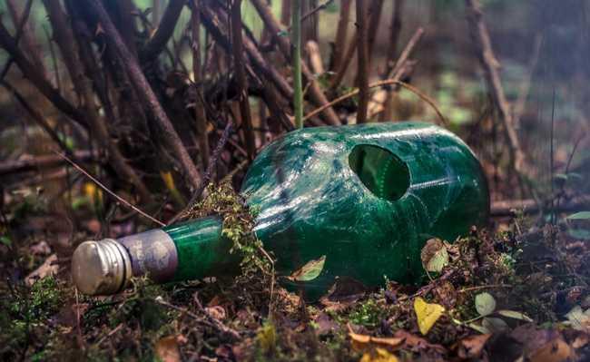 garrafa papel ecológica