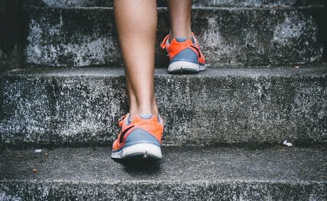 teste da escada saúde do coração