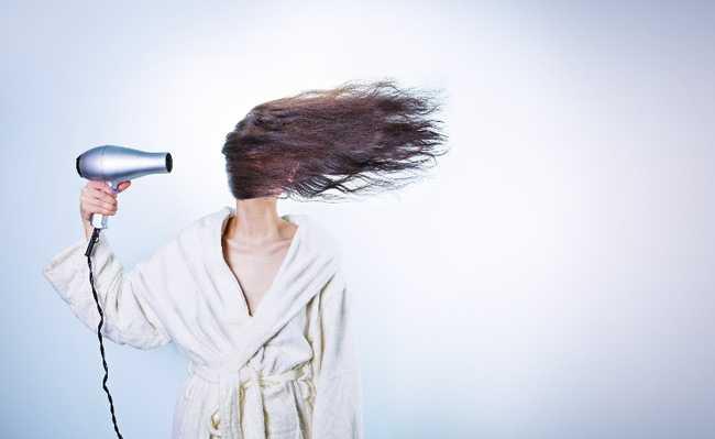 danos cabelos calor