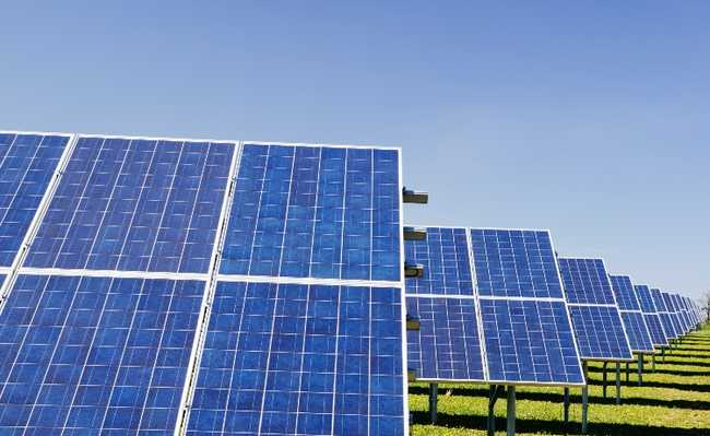 painel solar perovskita