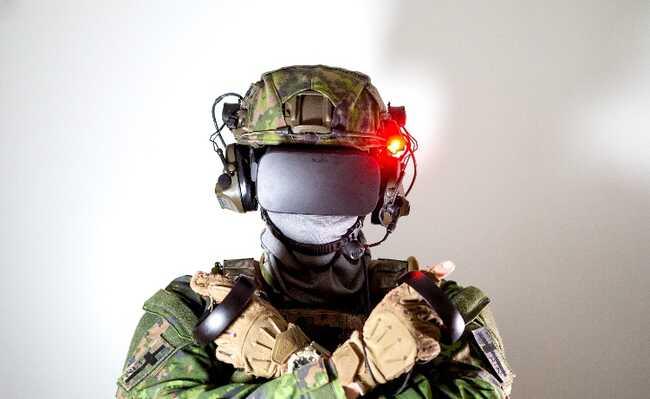 realidade aumentada exército