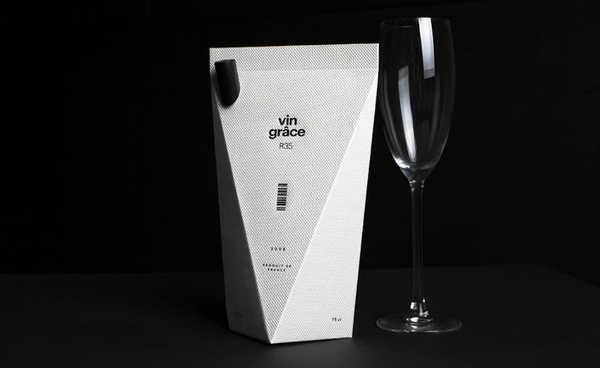 vin grace embalagem design