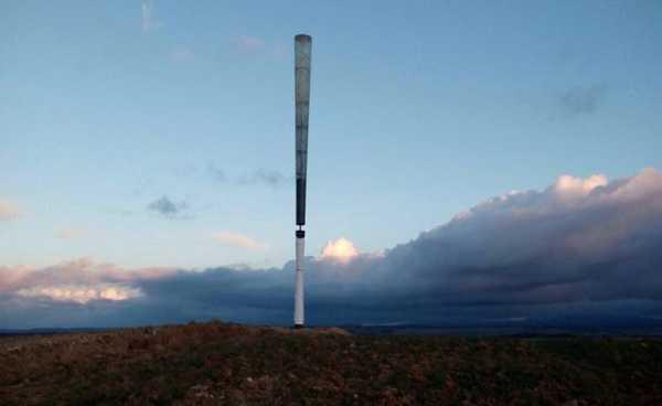 Inovadora turbina eólica não precisa de hélices