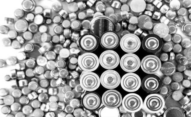 pilhas e baterias portáteis