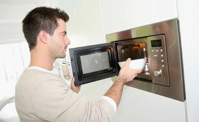 como limpar microondas?