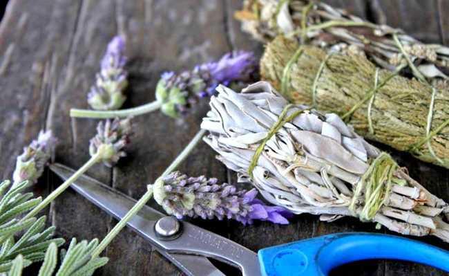 incensos e sachês naturais