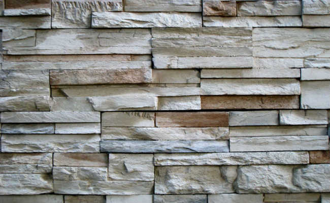 Pedras nas paredes