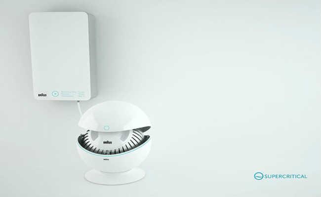 Maquina de lavar sustentável
