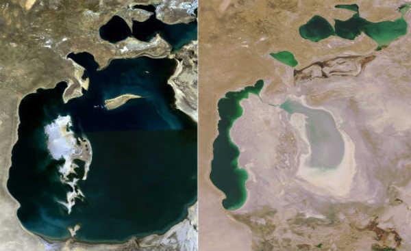 Desastre no Mar de Aral