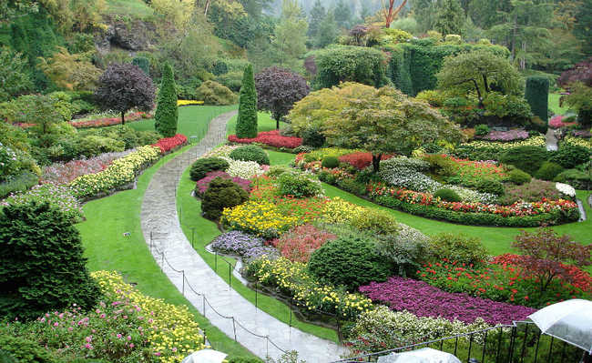 Jardim ornamental