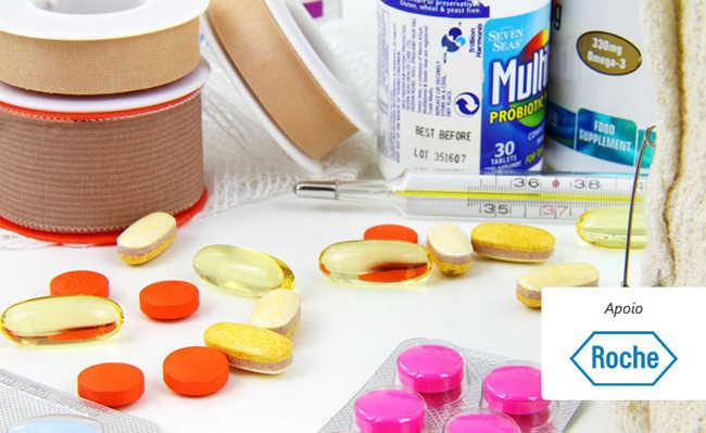 Limpar a caixa e o armário de remédios