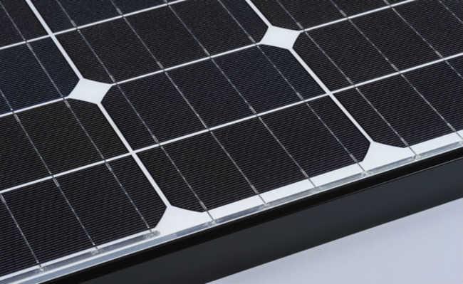 Painéis solares monocristalinos