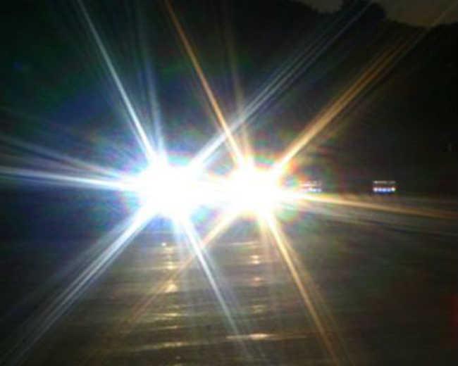 Existem diversos tipos de poluição luminosa