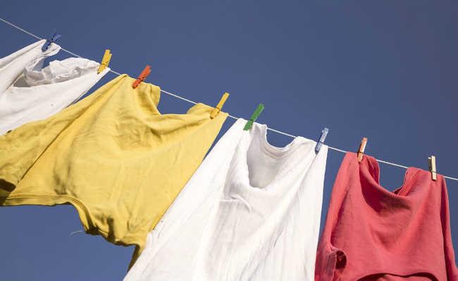 Roupas secando