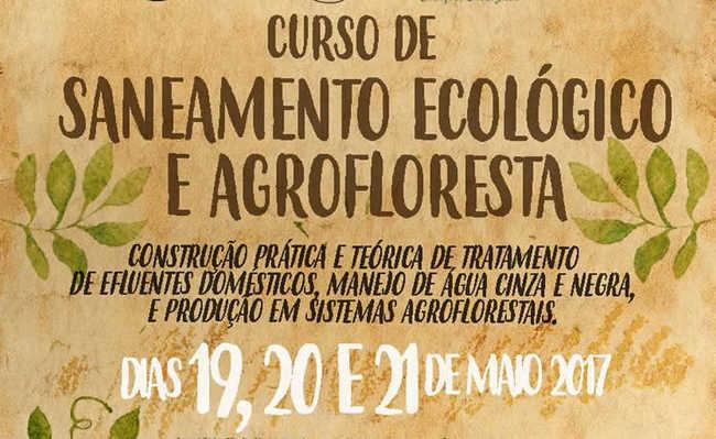 Curso de saneamento ecológico e agrofloresta