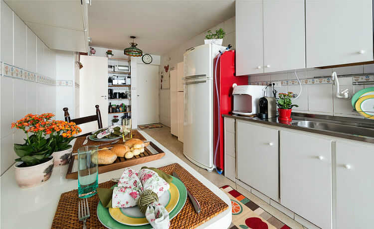 Waterbox na cozinha