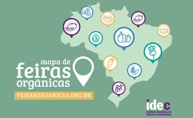 Mapa de Feiras Orgânicas