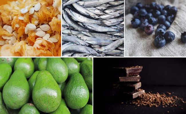 Cinco alimentos para estimular a memória e a concentração