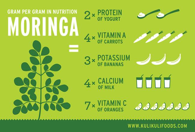 Nutrição Moringa