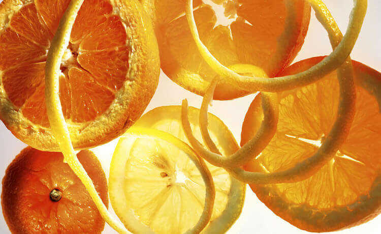 Casca de frutas