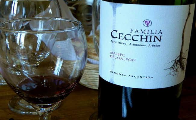 Vinhos orgânicos Família Cecchin