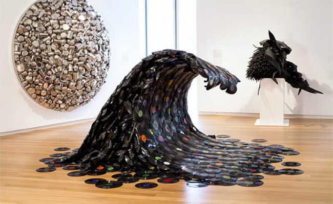 Jean Shin, Sound Wave