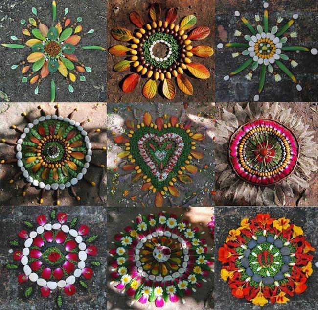Mandalas de la naturaleza / Mandalas of Nature, Eva White