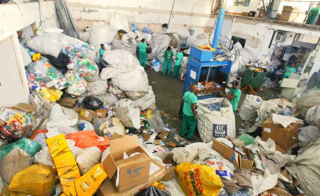 Residuos sólidos e catadores