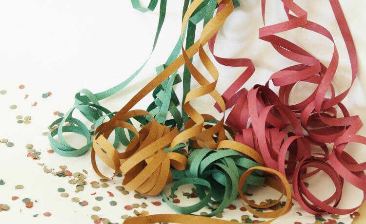 Confetes e Serpentinas