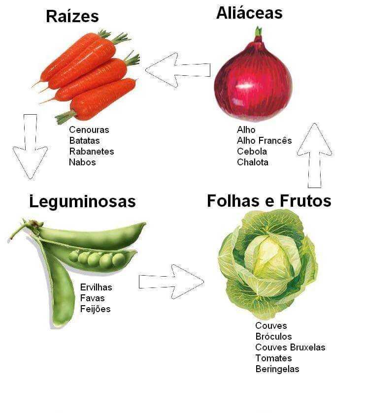 Alternar os cultivos
