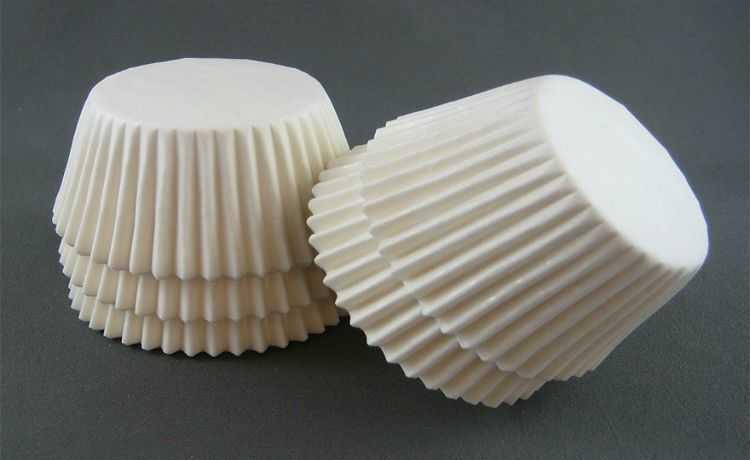 Forminhas de papel também podem ser usadas