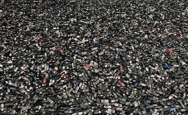 celulares, lixo, descarte