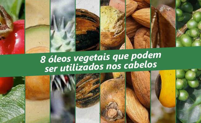 Óleos vegetais que podem ser utilizados nos cabelos