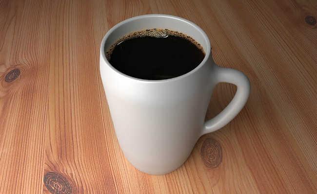 café para tratar pressão baixa