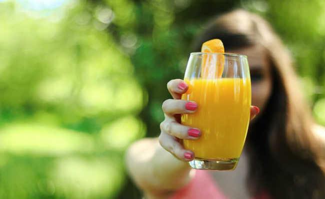 suco de laranja é bom para pressão baixa!