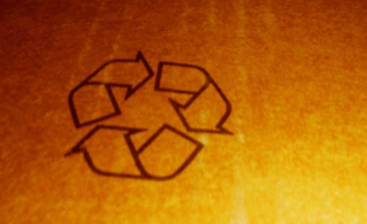 Símbolo da reciclagembolo