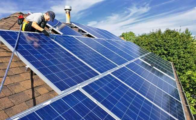 Placas para aquecimento solar de água