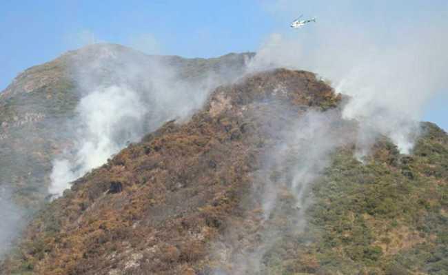 Incêndio Serra da Bocaina