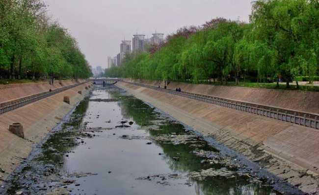Poluição águas