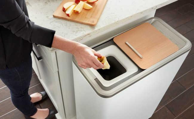 Zera: eletrodoméstico promete compostar o resíduo alimentar em 24 horas