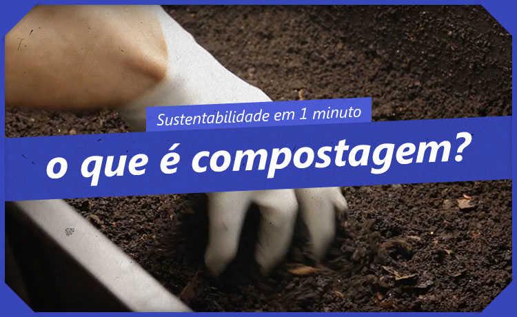 O que é a compostagem