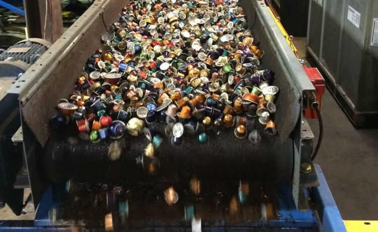 Reciclagem de cápsulas