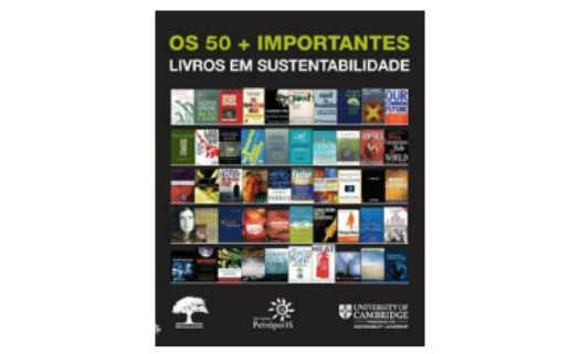 Capa do livro: Os 50+ importantes livros em sustentabilidade