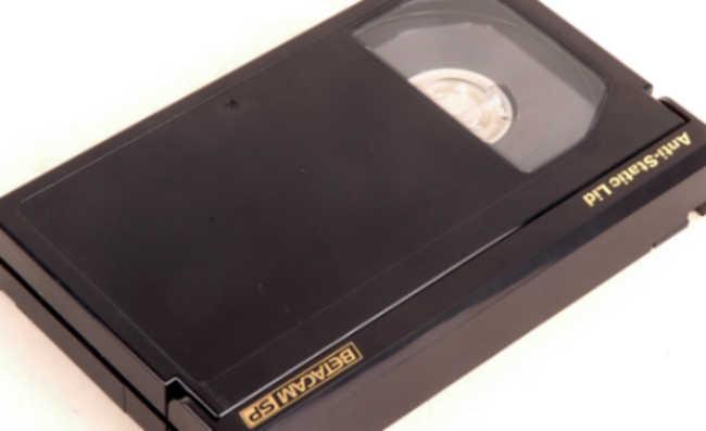 Fitas VHS tem o descarte possível porém complicado